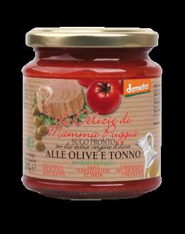 Sauce tomate olives et thon, Le Delizie di Mamma  (300 g)