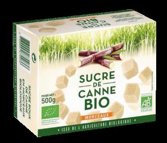 Sucre roux de canne en morceaux BIO, L&H (500 g)
