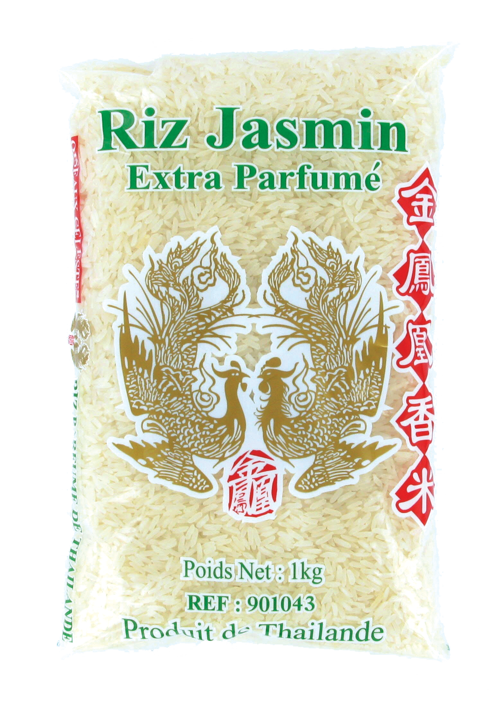 Riz jasmin Extra parfumé, Oiseaux Céleste (1 kg)