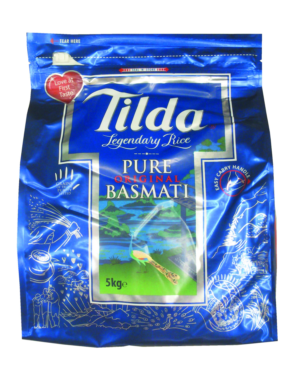Riz Basmati Pure Original, Tilda (5 kg)