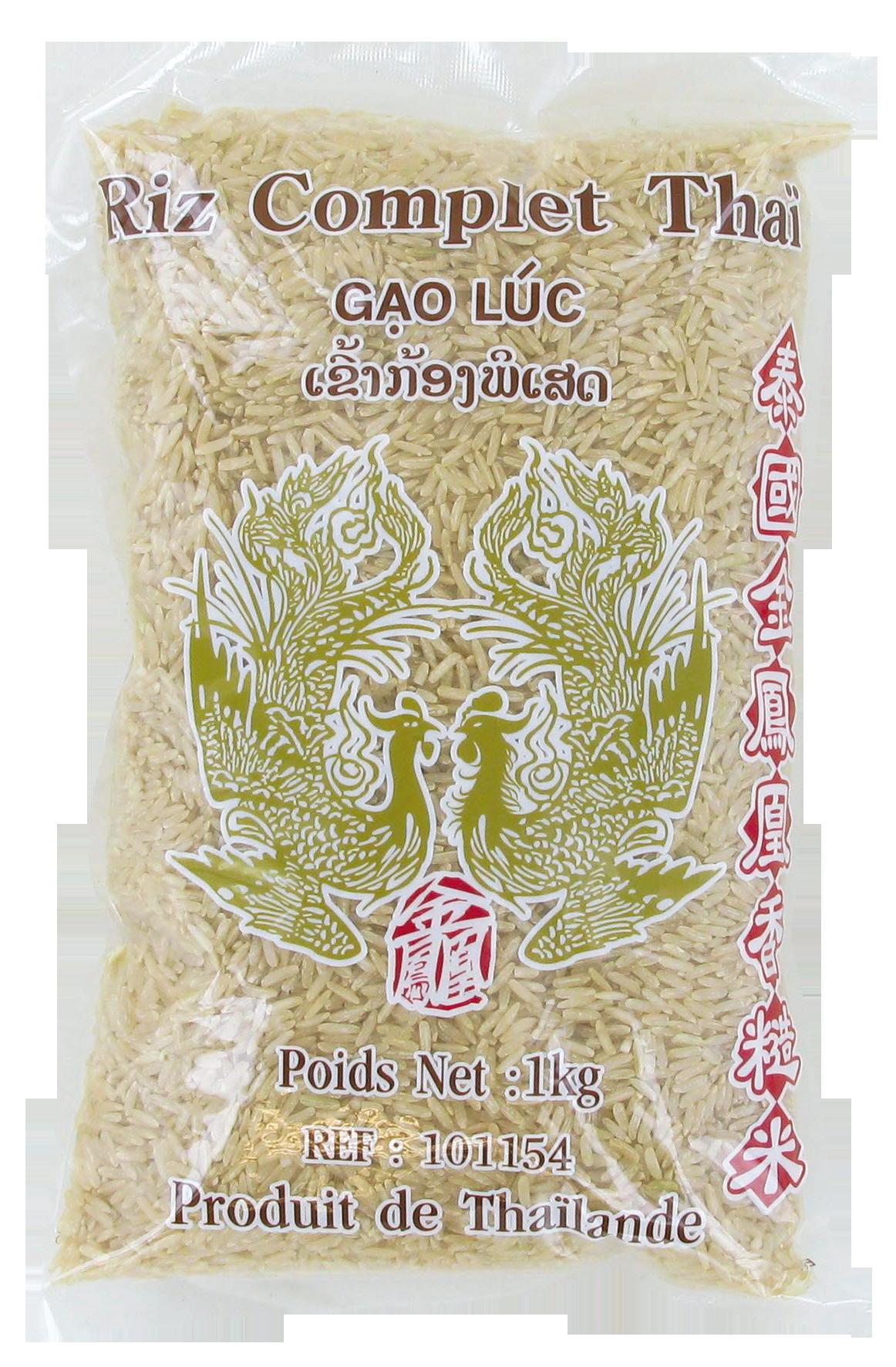 Riz Thaï complet jasmin, Oiseaux Celestes (1 kg)