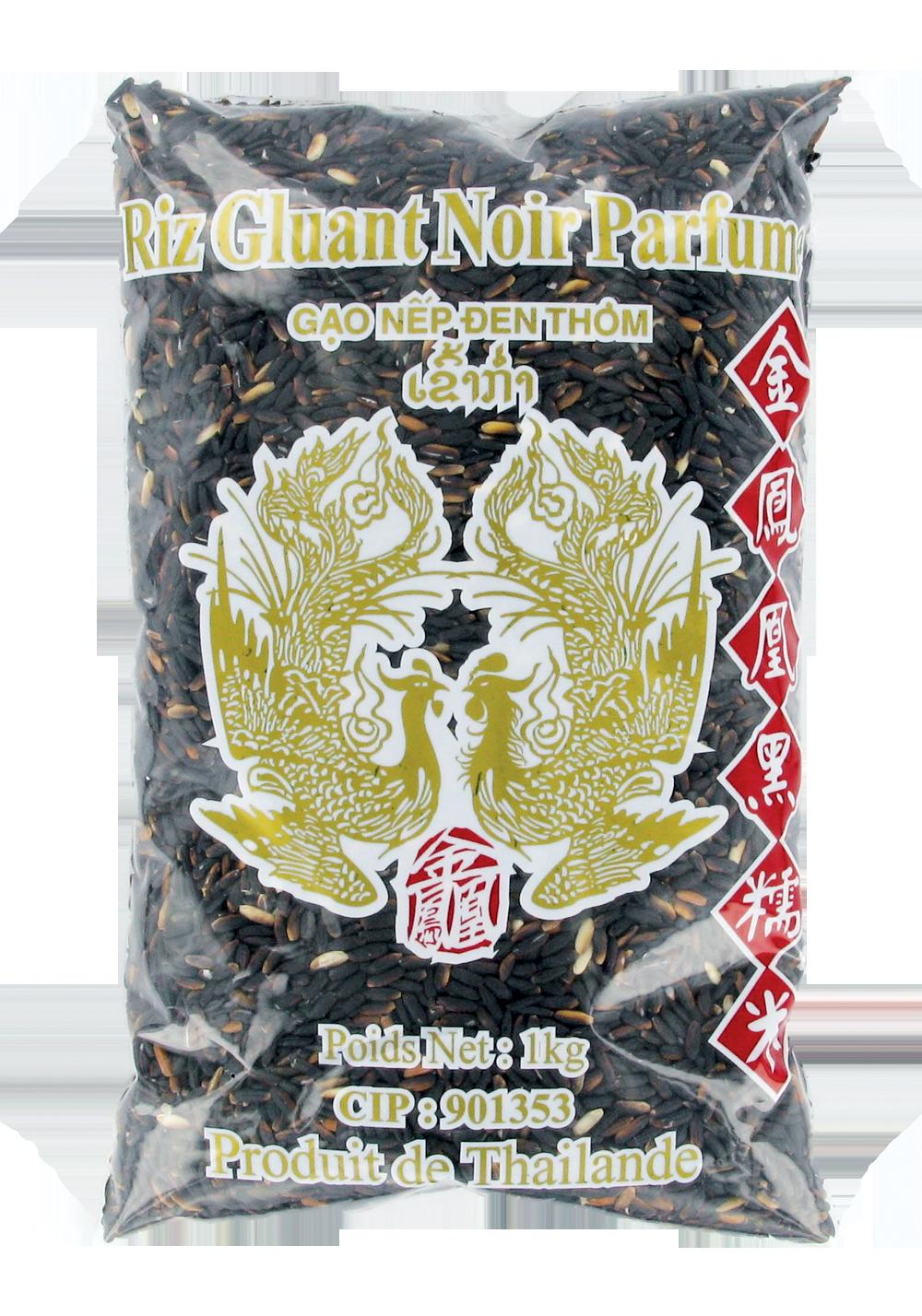 Riz gluant noir, Oiseaux Celestes (1 kg)