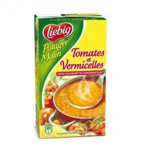 Soupe de tomate et vermicelle Potager Malin, Liebig (1 L)