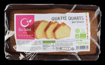 Quatre-quarts pur beurre BIO, Bio Soleil (260 g)