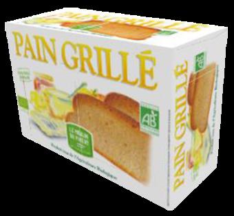 Pain grillé BIO, Le Moulin du Pivert (250 g)