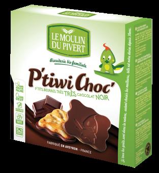 P'tiwi au chocolat noir, Le Moulin du Pivert (125 g)