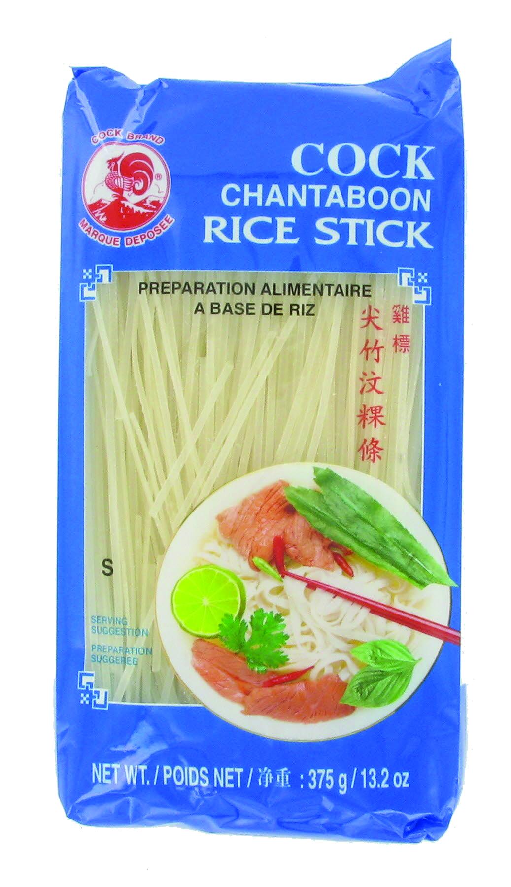Vermicelles (ou nouilles) de riz small - 1 mm - (pho) Cock (375 g)