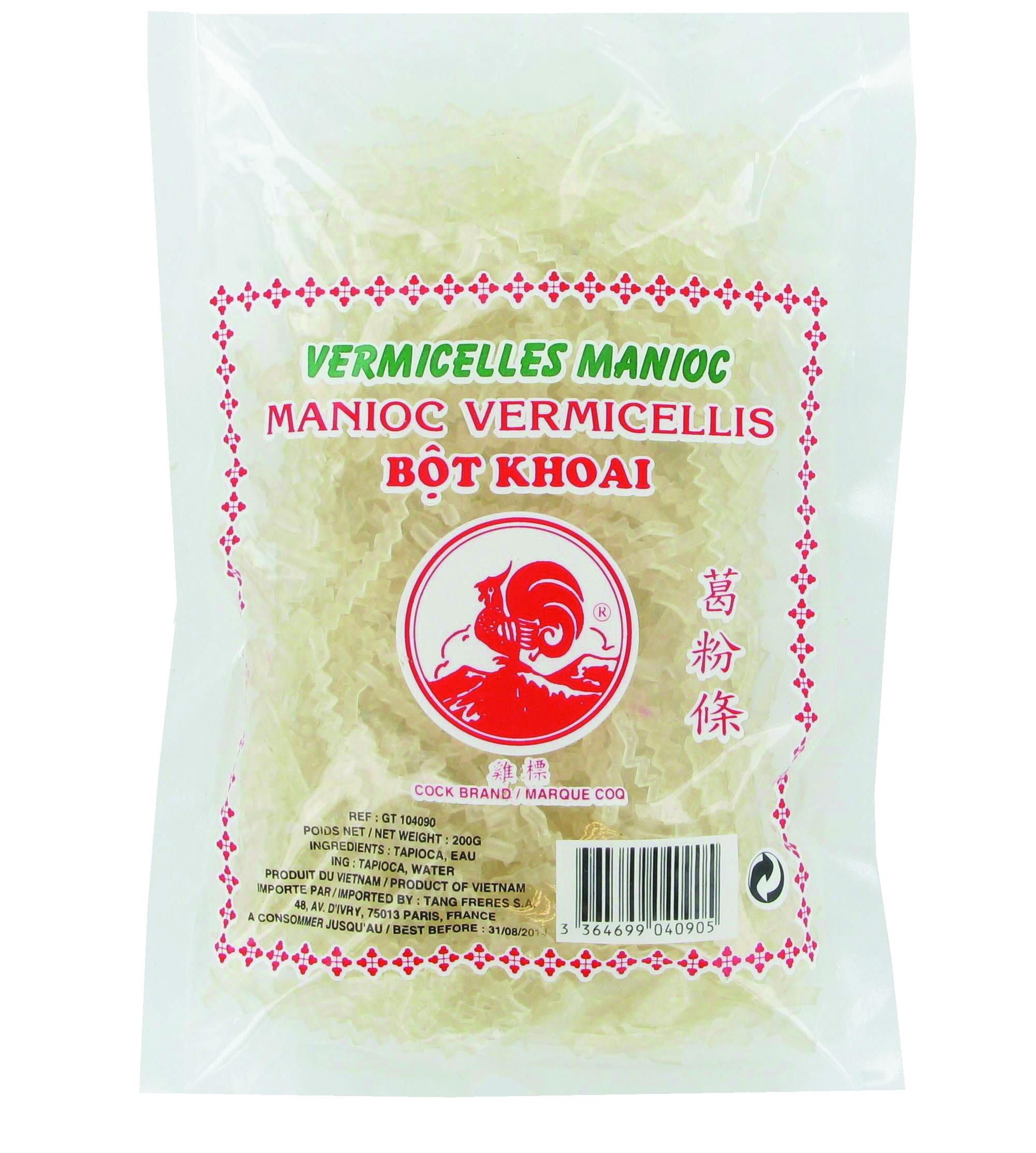 Vermicelles de manioc, Cock (200 g)