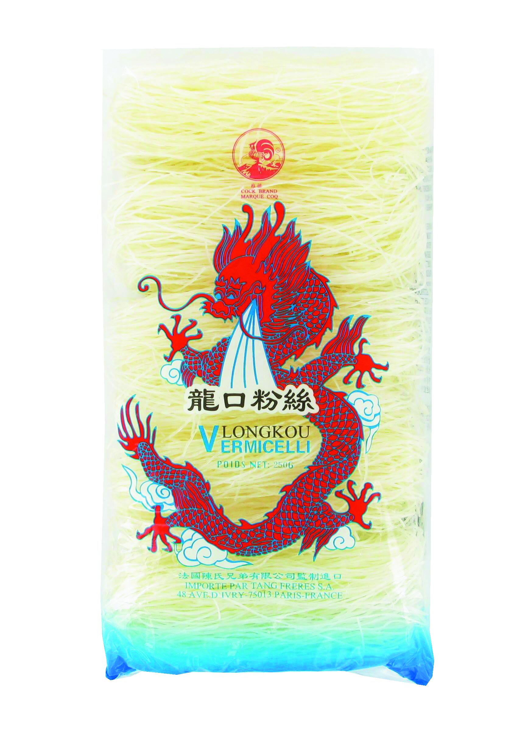 Vermicelles de soja Longkou, Cock (250 g)