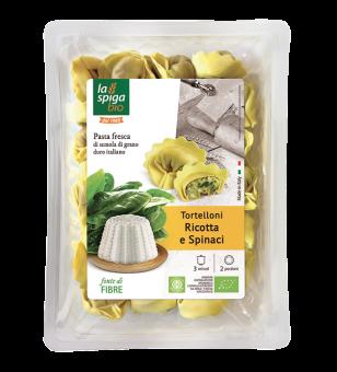 Tortelli ricotta/épinards BIO, La Spiga Bio (250 g)