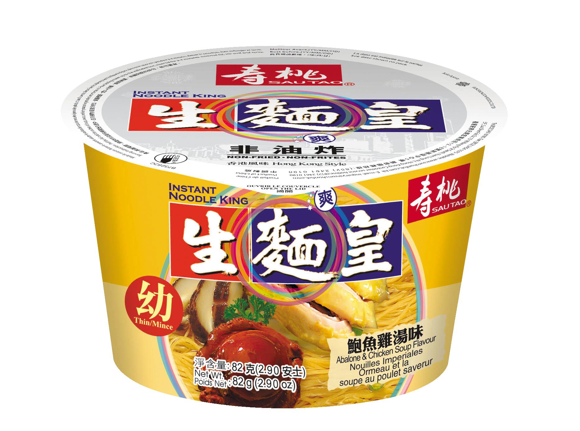 Nouille saveur poulet et abalone, Sau Tao (82 g)