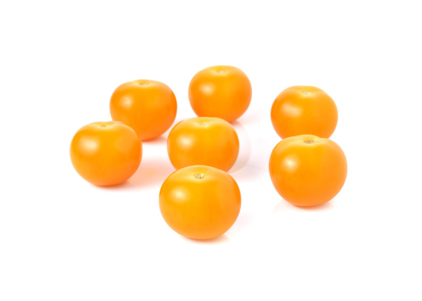 Barquette de tomates cerises jaunes (250 g)