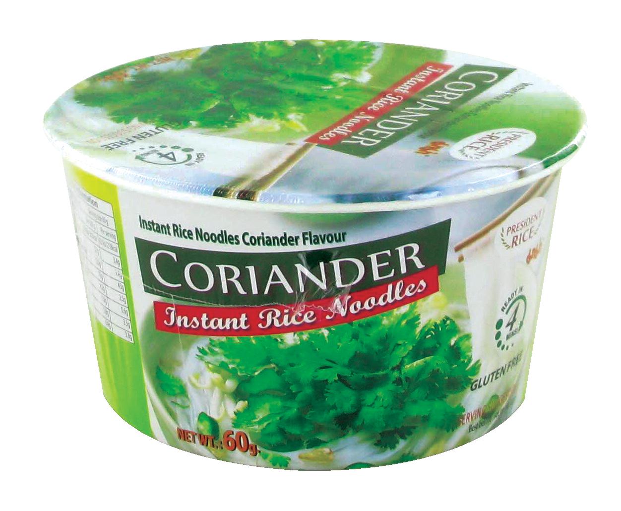 Nouilles de riz saveur coriandre, Mama (60 g)