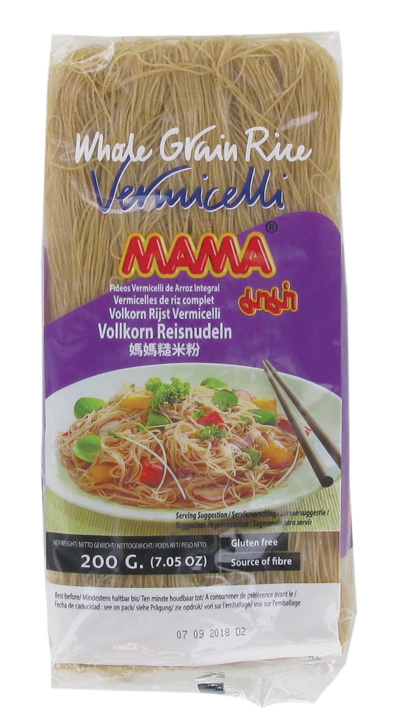 Vermicelles de riz brun, Mama (200 g)