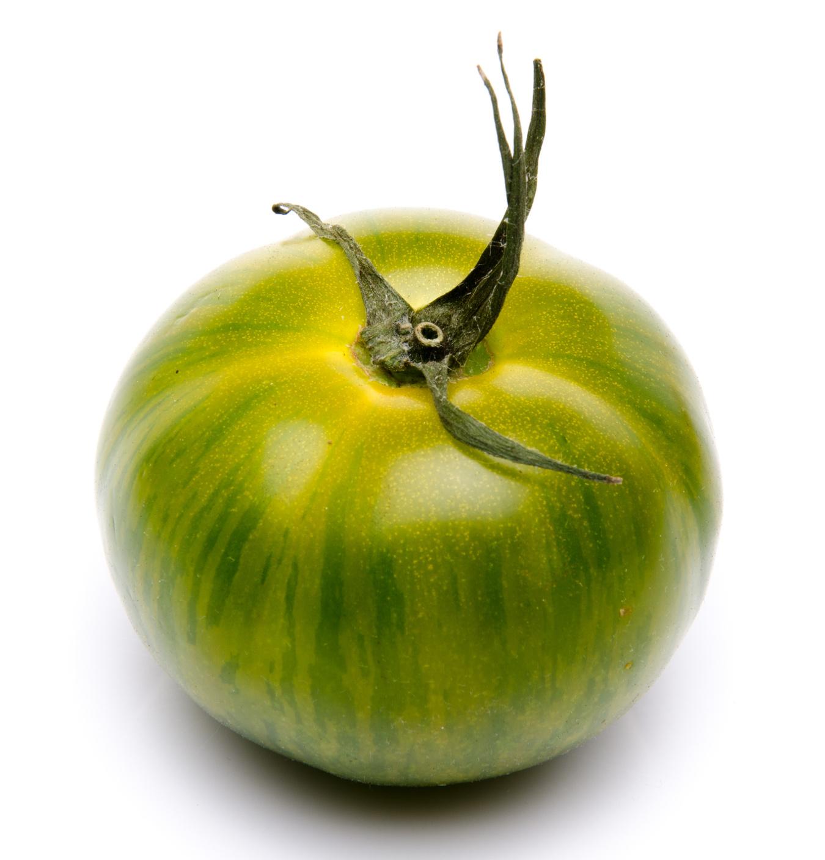 Tomate ancienne ronde verte Zebra Fr. BIO