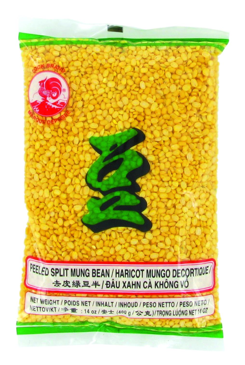 Haricot Mungo décortiqué, Cock (400 g)