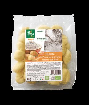 Gnocchi de pommes de terre fraîches aux oeufs BIO, La Spiga Bio (400 g)