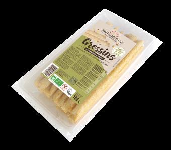 Gressins sarrasin et maïs BIO, Paradeigma (100 g)