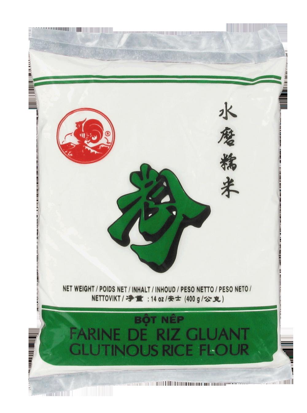 Farine de riz gluant, Cock (400 g)