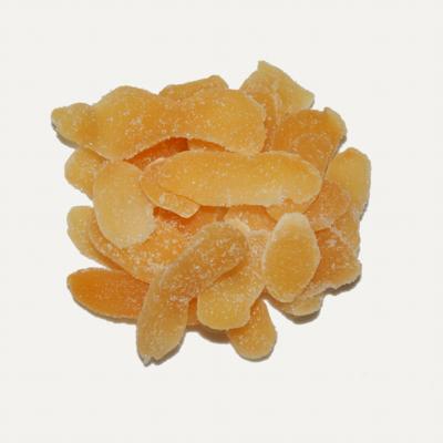 Lamelles de gingembre confit  (220 g)
