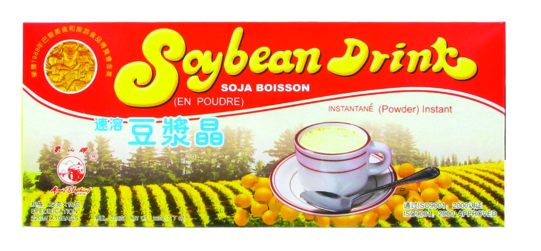 Poudre de soja pour boisson instantannée, Mount Elephant (10 x 22 g)