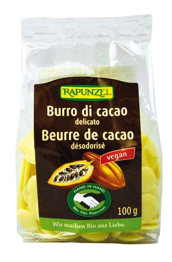 Beurre de cacao BIO, Rapunzel (100 g)