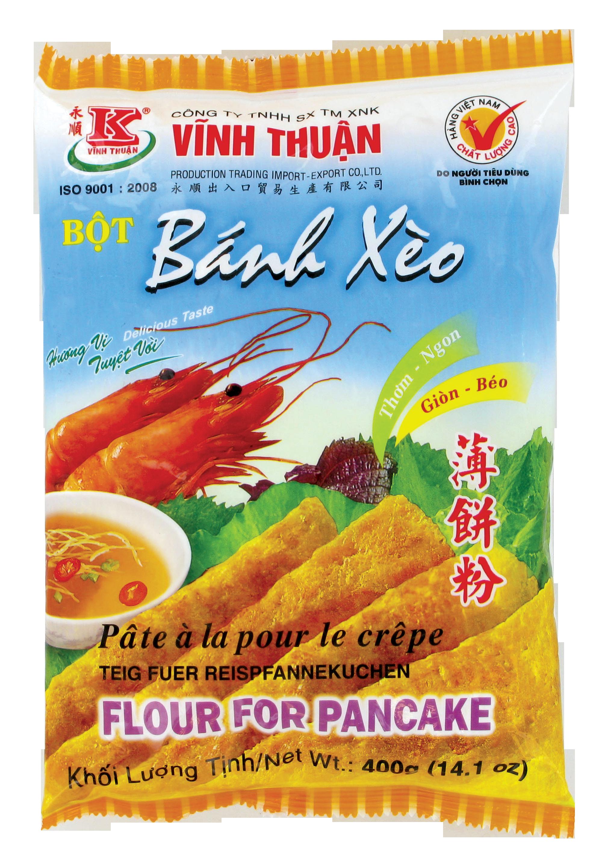 """Préparation pour """"Banh xeo"""" crêpes fourrées, Vinh Thuan (400 g)"""