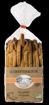 Biscottes Essentielle BIO, La Chanteracoise (280 g)