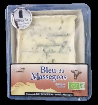 Bleu de Massegros BIO, 53 % MG/PF, Lou Passou (130 g)
