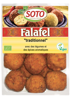 Falafel traditionnel, Soto (x 12, 220 g)