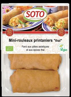 Mini-rouleaux printaniers Thai, Soto (x 4, 200 g)