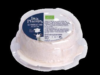 Le Rabelet BIO au lait cru, 21 % MG/PF, Lait Plaisirs (150 g)