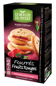 Fourrés fruits rouges BIO, Le Moulin du Pivert (175 g)