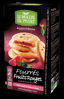 Fourrés fruits rouges BIO, Le Moulin du Pivert (175 g)