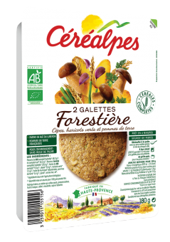 Galettes de céréales forestière BIO, Céréalpes (x 2, 180 g)