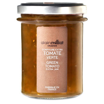 Confiture Extra Tomate Verte, Alain Milliat (230 g)
