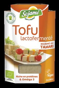 Tofu lactofermenté mariné au tamari, Le Sojami (x 2, 200 g)
