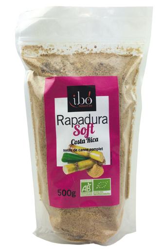 Sucre de canne complet Rapadura Soft BIO, Ibo (500 g)