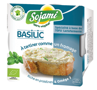 Sojami à tartiner basilic, Le Sojami (125 g)