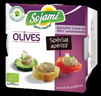Sojami à tartiner - spécial apéritif - aux olives, Le Sojami (125 g)