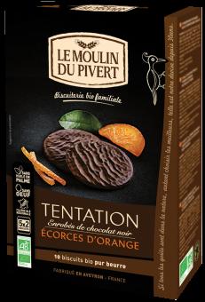 Tentation écorces d'orange BIO, Le Moulin du Pivert (130 g)