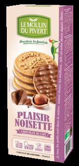 Plaisir noisette chocolat au lait, Le Moulin du Pivert (130 g)