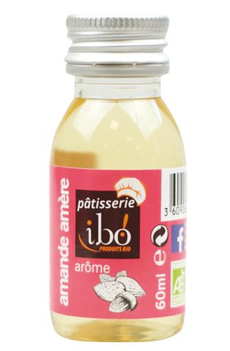Arôme amande amère naturel BIO, Ibo (60 ml)