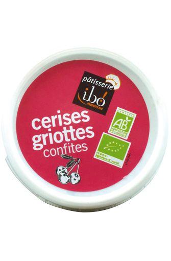 Cerises griottes confites BIO, Ibo (150 g)