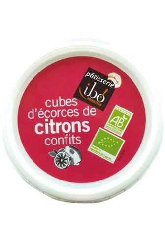 Cubes d'écorces de citron confits BIO, Ibo (150 g)