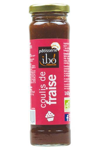 Coulis de fraise BIO, Ibo (165 g)