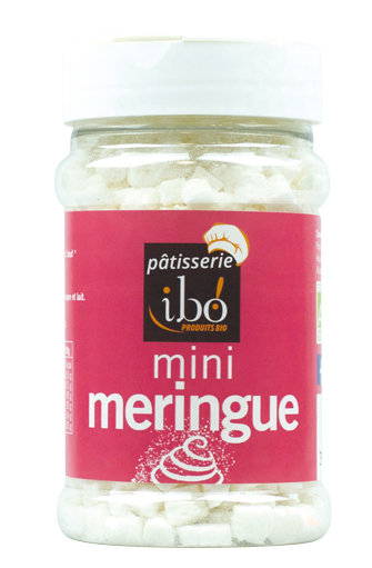 Mini meringue nature BIO, Ibo (25 g)