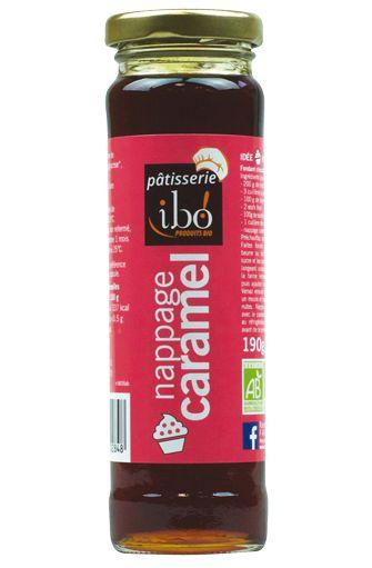 Nappage au caramel BIO, Ibo (190 g)