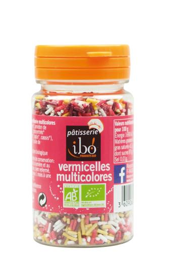 Vermicelles multicolores BIO, Ibo (60 g)