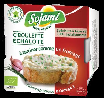 Sojami à tartiner ciboulette/échalote, Le Sojami (125 g)